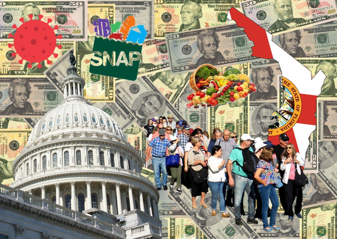 En Florida los cupones de alimentos están disimulando una grave crisis social